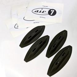 Air7 フォームボード用 FCS互換性  フィン ボックス 交換 アップグレード 簡単 ソフトボード用